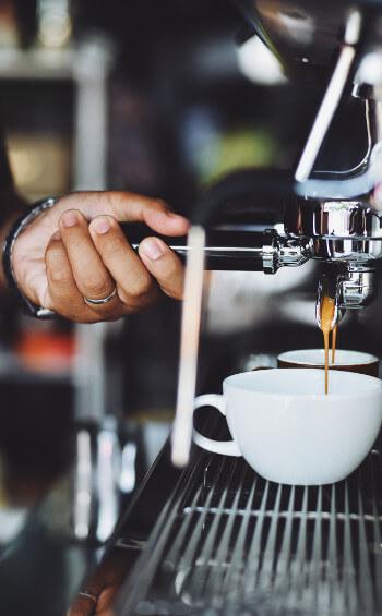 Espresso od baristy