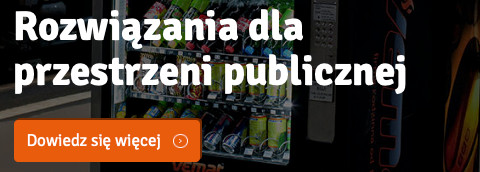 automat sprzedający dla przestrzeni publicznej